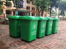 thùng rac nhựa 60 lit